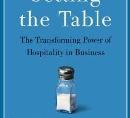 service management setting the table libo copertina