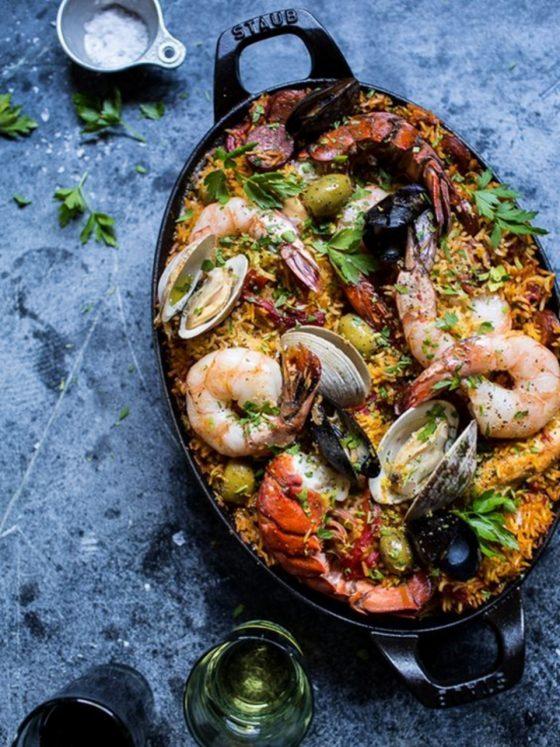 paella cucina spagnola
