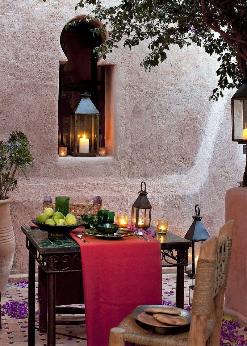 i colori della cucina araba